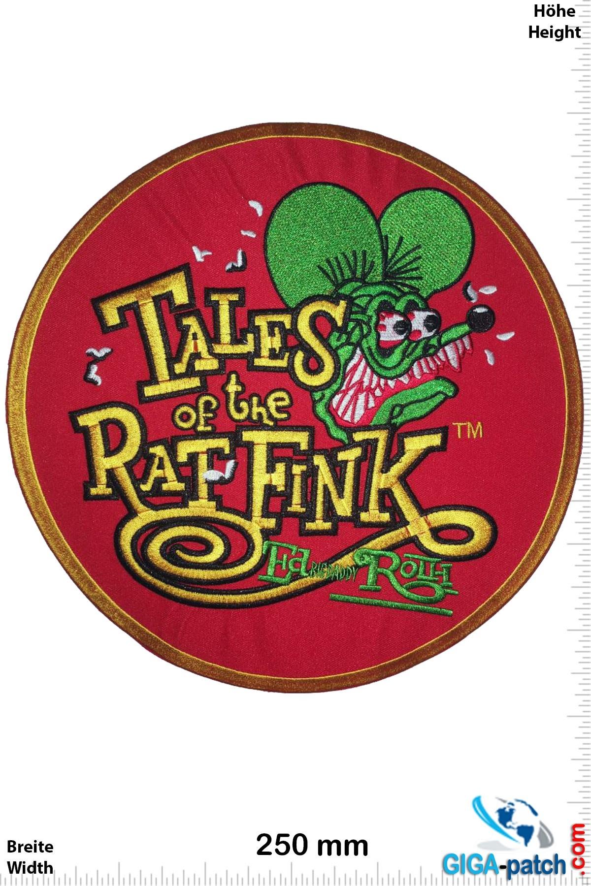 Rat Fink Tales ot the Rat Fink - 25 cm - BIG