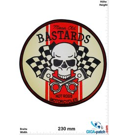 Cafe Racer Bastards - mean old - Hot Rods Motorcycles - Caferacer - 26 cm