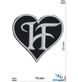 Oldschool Heart  - Herz - H