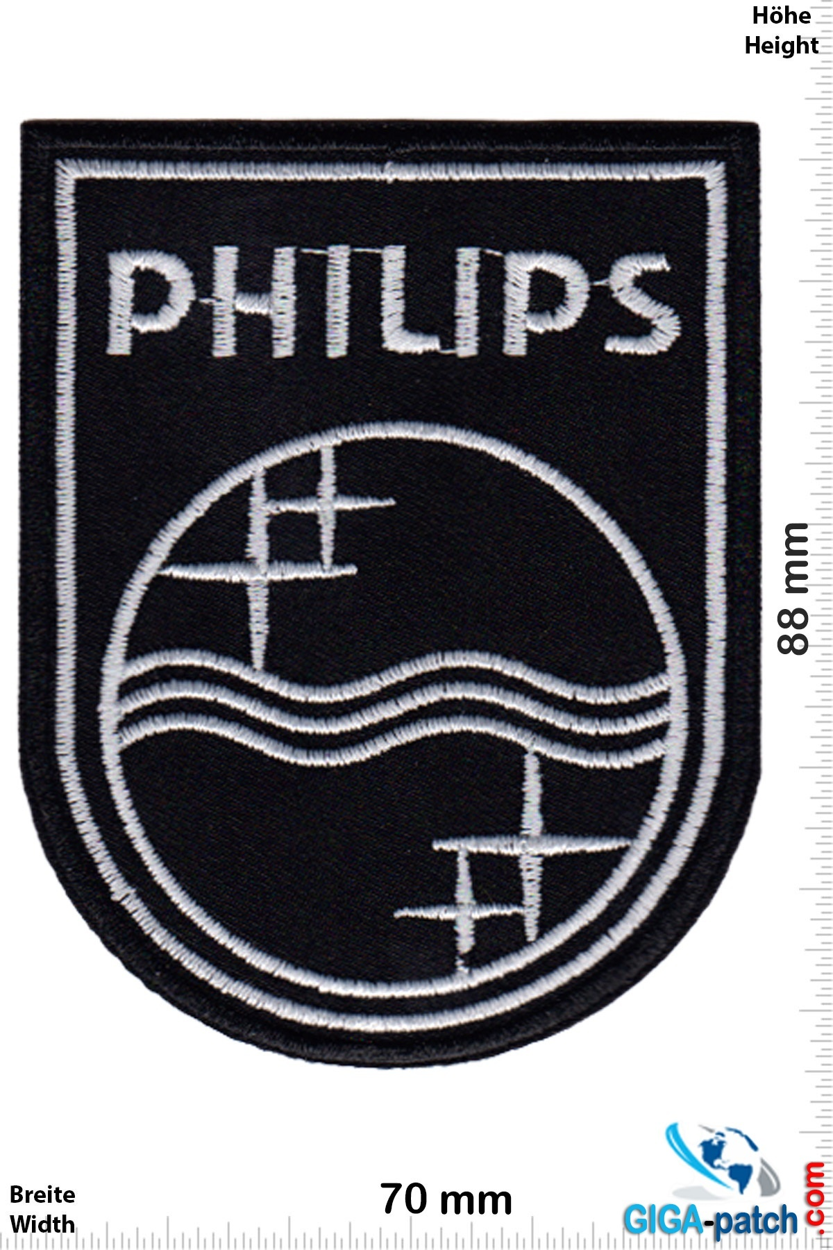 Philips - silver black