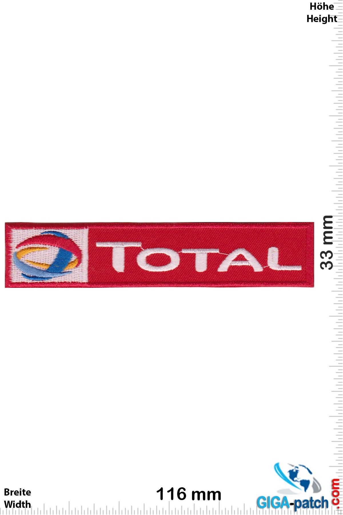 Total TOTAL - red