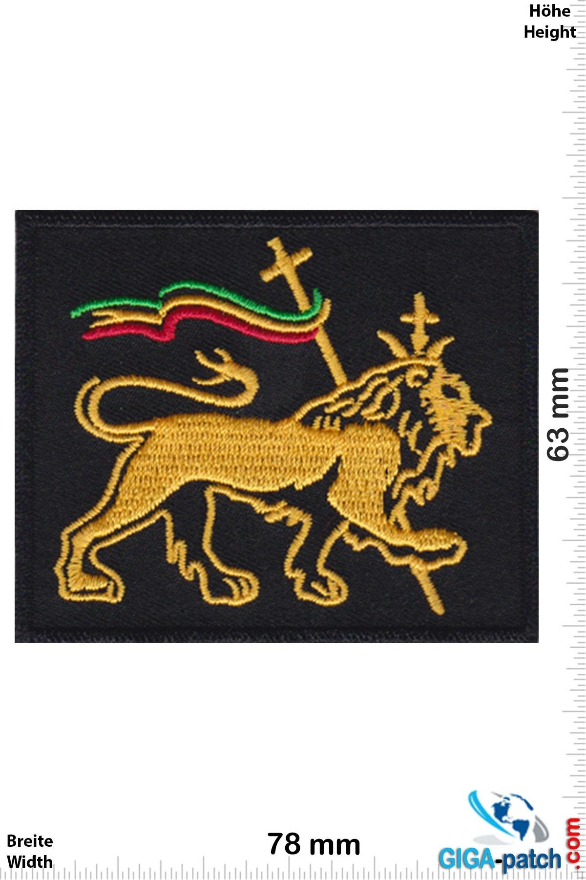 Reggae Löwe von Juda Rasta - Lion Of Judah Reggae- square