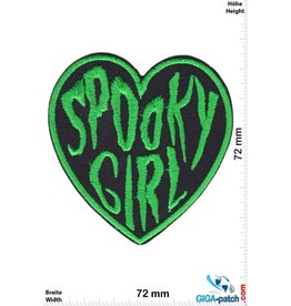 Oldschool Spooky Girl - Heart