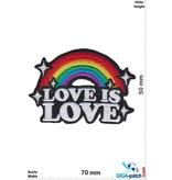 Love Love is Love - Rainbow