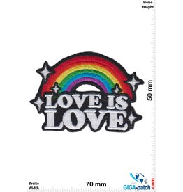 Love Love is Love - Rainbow