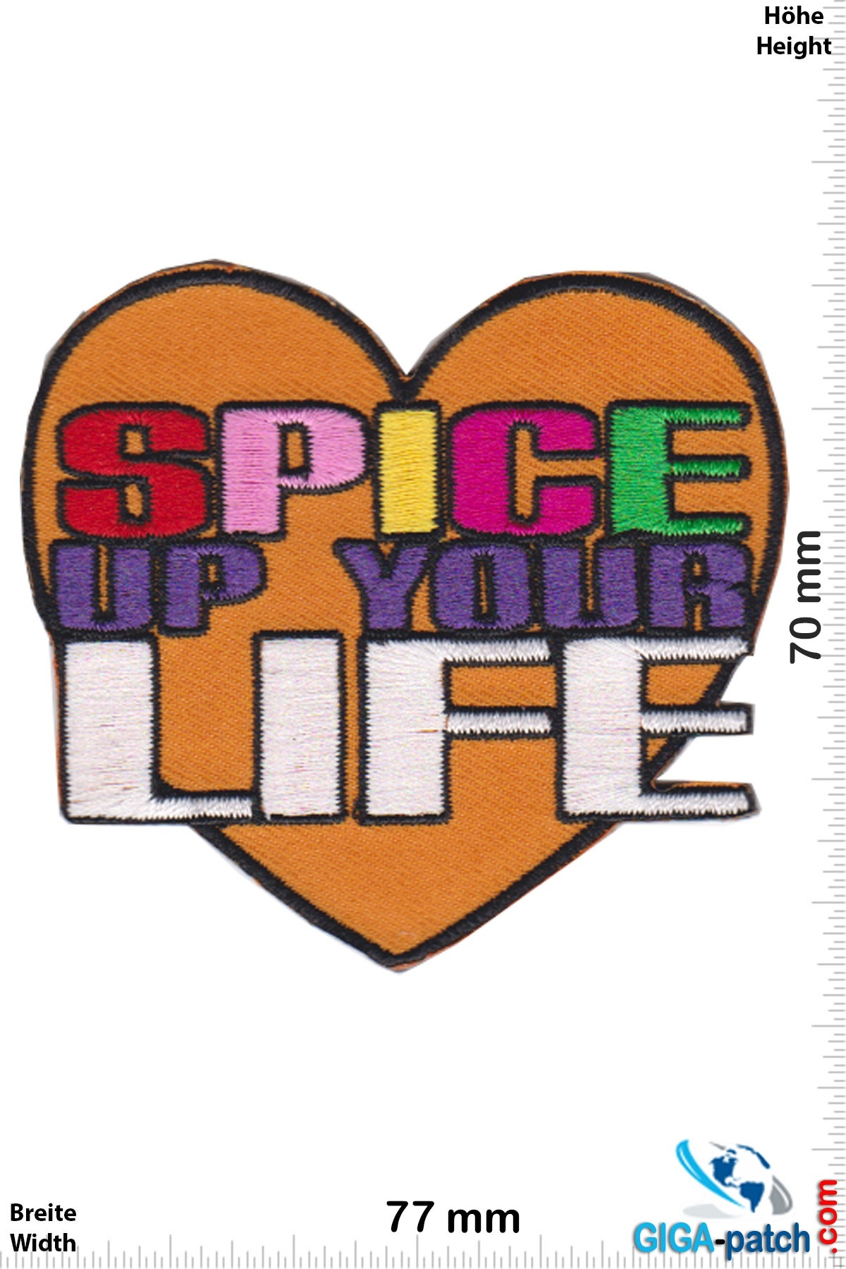 Fun Spice up your Life- Heart