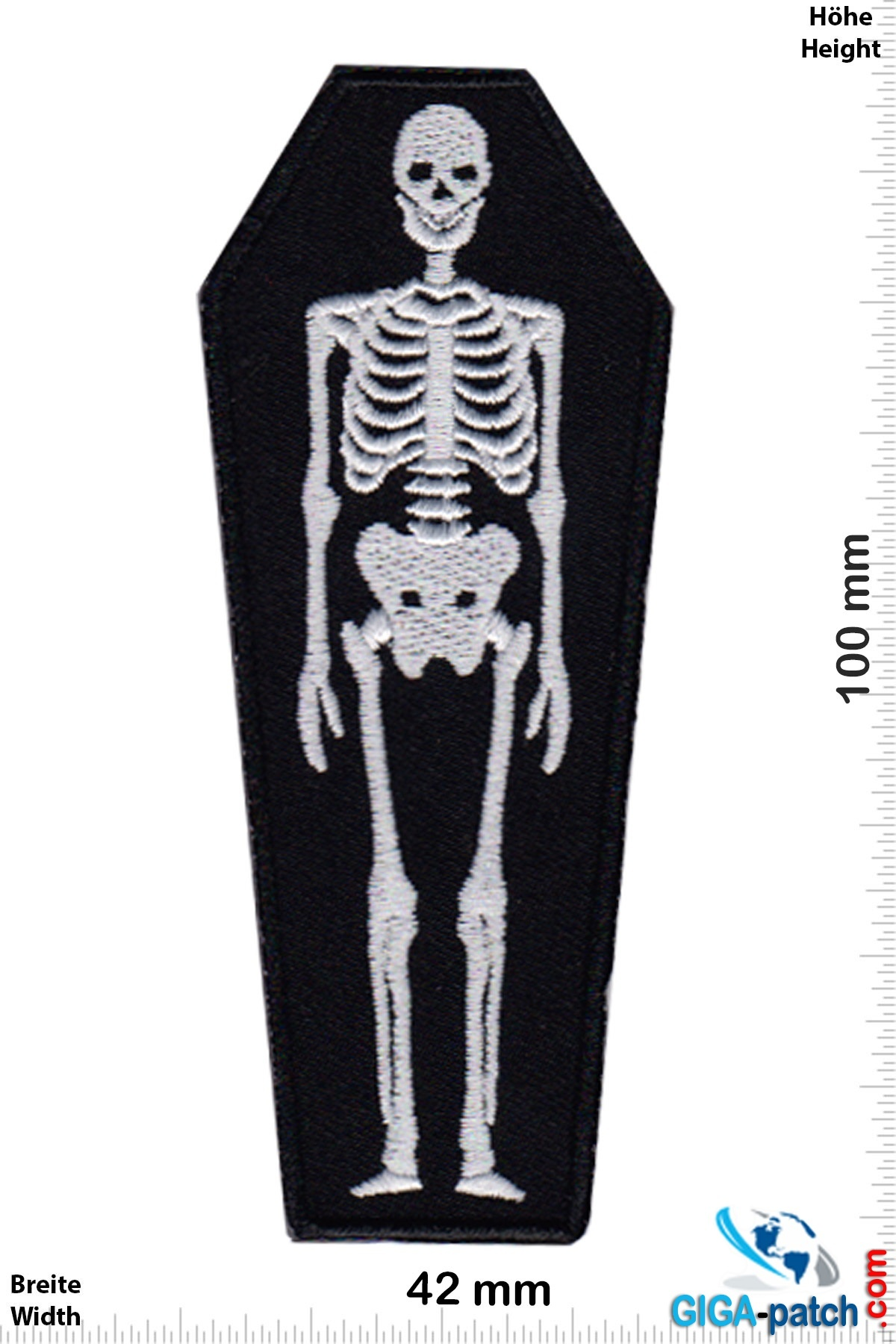 Fun Sarg -Skelett