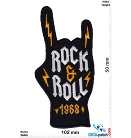 AC DC ACDC  - gold - AC DC - 1968  - Mudra  Pommesgabel