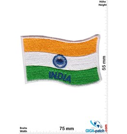 India - Indien - Flagge