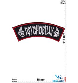 Psychobilly  Psychobilly - black silver red