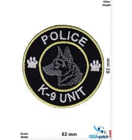 Police Police - K-9 Unit - Police dog - Dogs Season -  gold silver