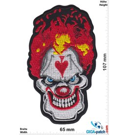 Totenkopf Horror Clown - Pik  - Scary Clown   HQ