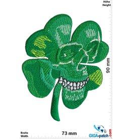 Irland, Ireland  Irish Skull - Kleeblatt Totenkopf - small