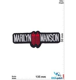 Marilyn Manson Marilyn Manson  - red silver