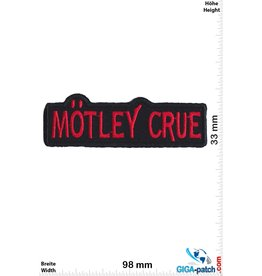 Motley Crue Motley Crue - red- black