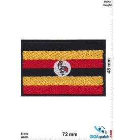 Uganda  - Flagge