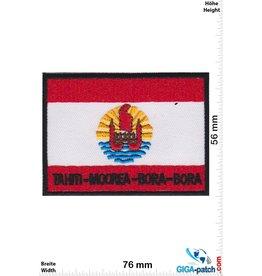 Tahiti Moorea Bora Bora - Flag