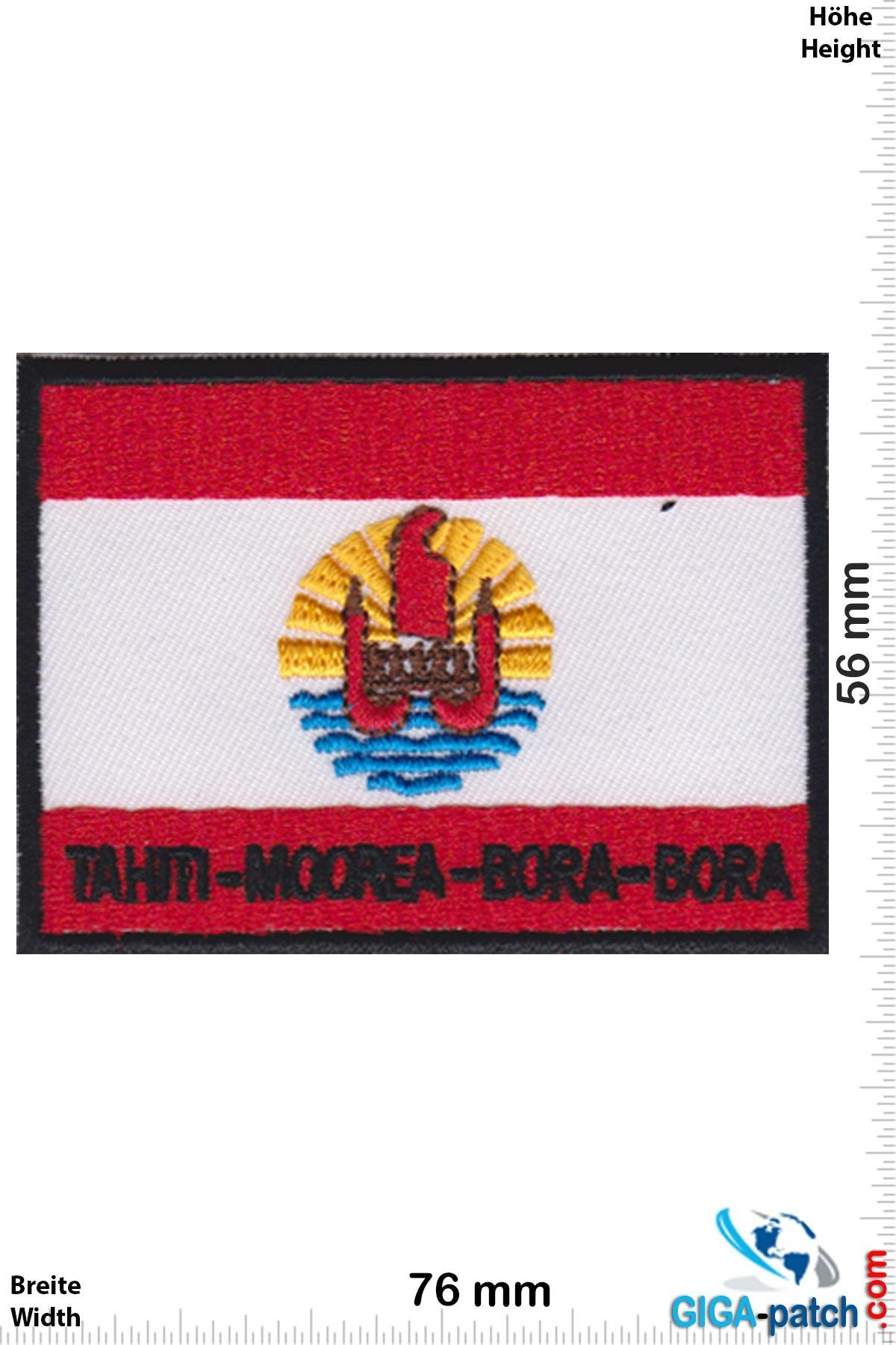 Tahiti Moorea Bora Bora - Flagge