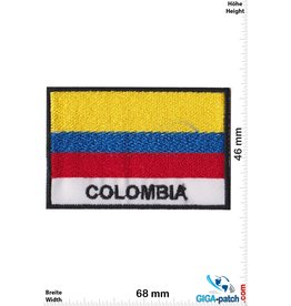 Colombia - Flag - black