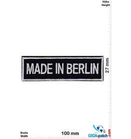 Deutschland, Germany Made in Berlin