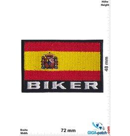 Spanien, Spain Biker Flag Spain