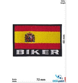 Spanien, Spain Biker - Spanien - Flag Spain