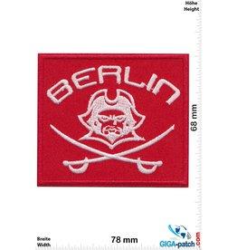 Deutschland, Germany Berlin - Pirat - rot silber