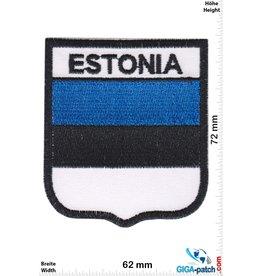 Estonia - Flagge - Wappen
