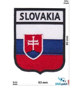 Slovakia - Flagge - Slowakei - Wappen