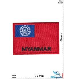 Myanmar - Flag - red