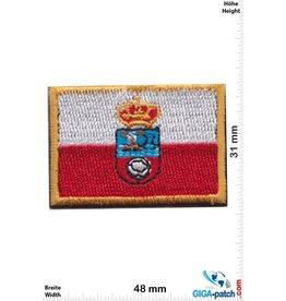 Spanien, Spain Kantabrien - Spanien - Flag Spain - small