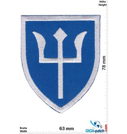 Army Trident - Army - Fighter Swimmer - blue