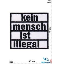 Frieden kein mensch ist illegal