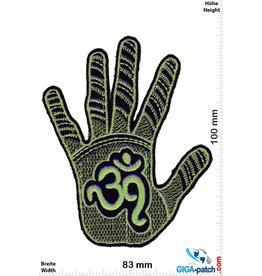 OM - green Hand