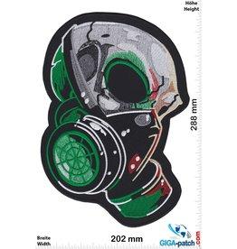 Totenkopf Skull gas mask - 28 cm
