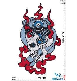 Totenkopf V2 - Skull - 28 cm