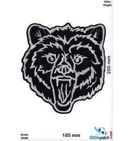 Bär Bear -  black silver  - 20 cm