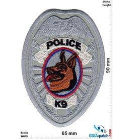 Police Police - K-9 Unit - silber - Police dog - Hundestaffel  - USA Police
