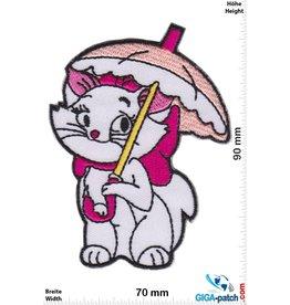 Marie - Aristocats - Regenschirm