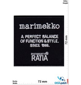 Marimekko - Ristomatti Ratia - a perfect balance of function & style