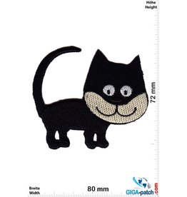 Kids Schwarze Katze - Black Cat - Smile