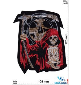 Totenkopf Grim Reaper, hourglass - HQ