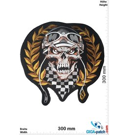 Cafe Racer Skull - Cafe -Racer - Winner - 30 cm