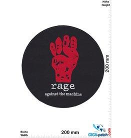 Rage against the machine Rage against the machine - round  - 20 cm