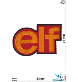 Elf elf - gold red