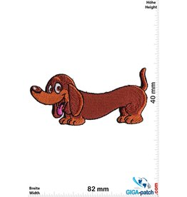 Hund Dackel - Hund - Cartoon