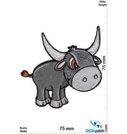 Bull Angry bull - Cartoon