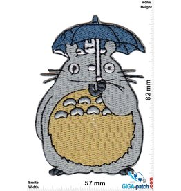 Miyazaki Hayao Totoro with Umbrella