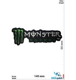 Monster Monster  Energy  - schwarz grün - long