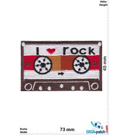 DJ Mix Tape - i love rock - brown